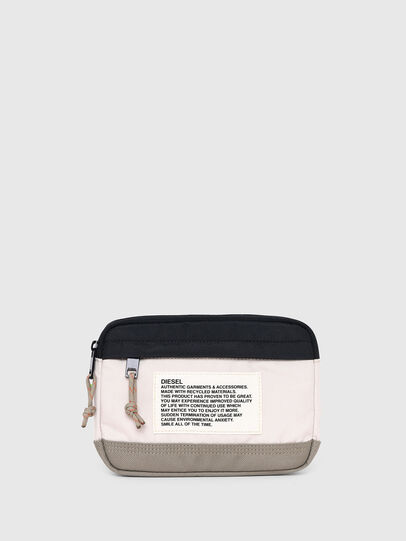 Diesel - DRESSLEK, White/Orange - Crossbody Bags - Image 1