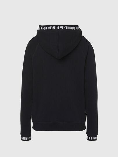 Diesel - UFLT-COVERY, Black - Sweaters - Image 2