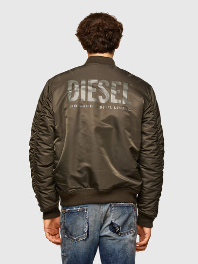 Diesel - J-ROSS-REV, Brown - Jackets - Image 2