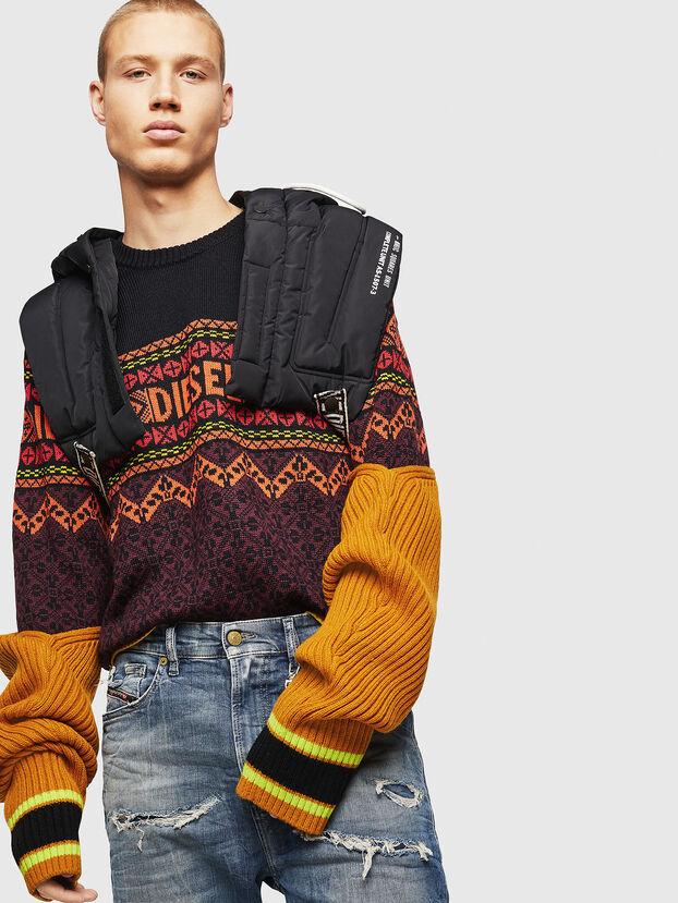 K-CV-ALLJAC, Multicolor/Black - Knitwear