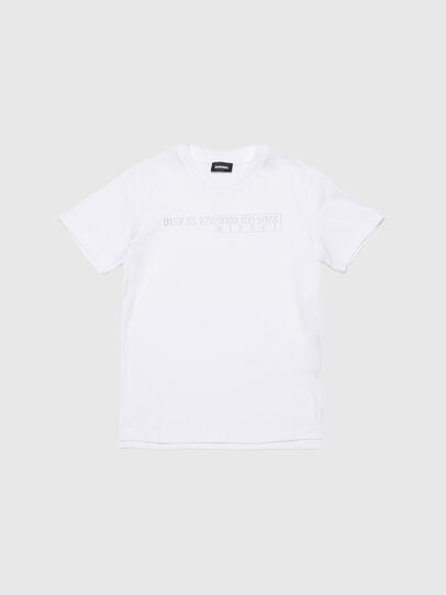 Diesel - TDIEGOSLITSJ6, White - T-shirts and Tops - Image 1
