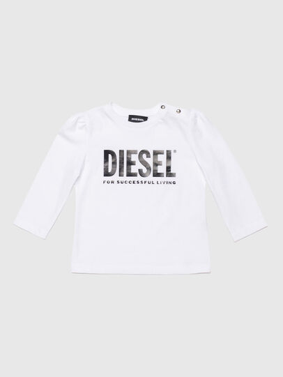 Diesel - TRASSYB, White - T-shirts and Tops - Image 1