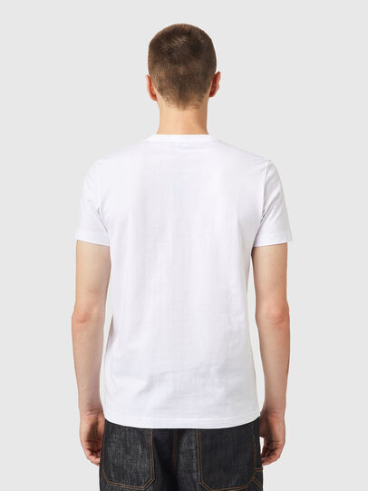 Diesel - T-DIEGOS-K26, White/Red - T-Shirts - Image 2