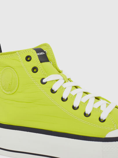 Diesel - S-ASTICO MC WEDGE, Yellow - Sneakers - Image 4