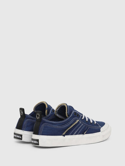 Diesel - S-ASTICO LOW LACE, Blue - Sneakers - Image 3