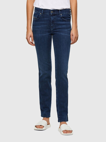 Diesel - Sandy 009QI, Dark Blue - Jeans - Image 1