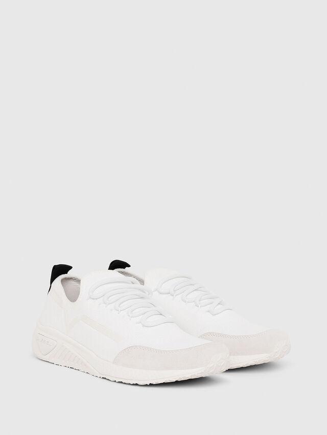 Diesel - S-KBY STRIPE W, White - Sneakers - Image 2