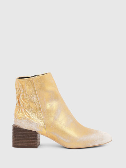 Diesel - JAYNET MAB, Gold - Ankle Boots - Image 1