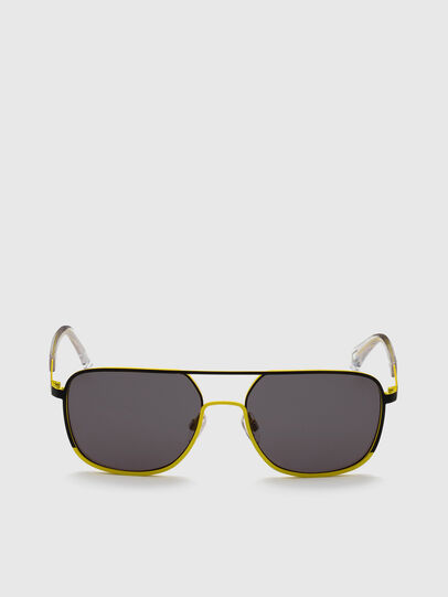 Diesel - DL0325, Black/Yellow - Sunglasses - Image 1