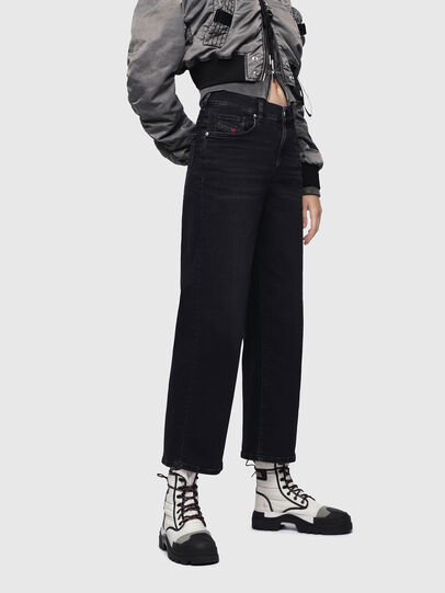 Diesel - Widee 084HQ, Black/Dark grey - Jeans - Image 1