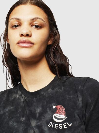 Diesel - UFTEE-ROUNDIE, Black - T-Shirts - Image 3