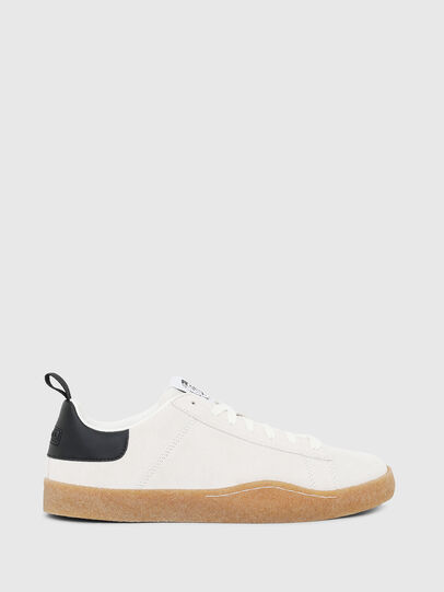 Diesel - S-CLEVER PAR LOW, White/Black - Sneakers - Image 1
