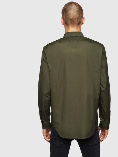 Diesel - S-BILL, Dark Green - Shirts - Image 2