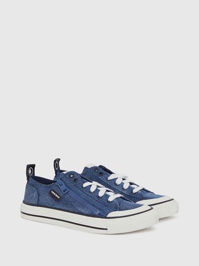 Diesel - S-ASTICO LOW ZIP W, Blue Jeans - Sneakers - Image 2