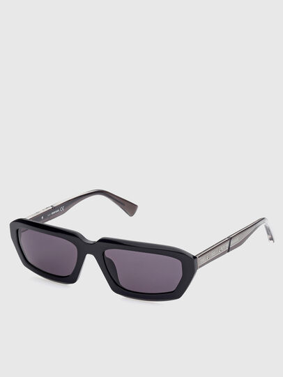 Diesel - DL0347, Black - Sunglasses - Image 2