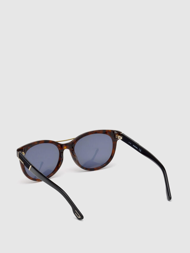 Diesel DL0213, Brown - Eyewear - Image 2