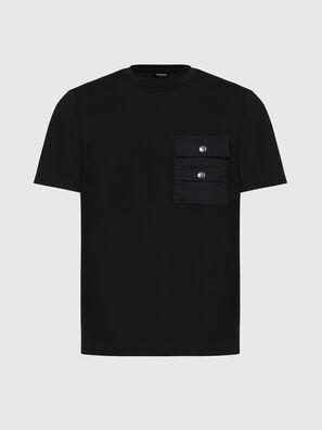 T-TASK-SLITS, Black - T-Shirts