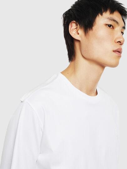 Diesel - T-ZAFIR, White - T-Shirts - Image 3
