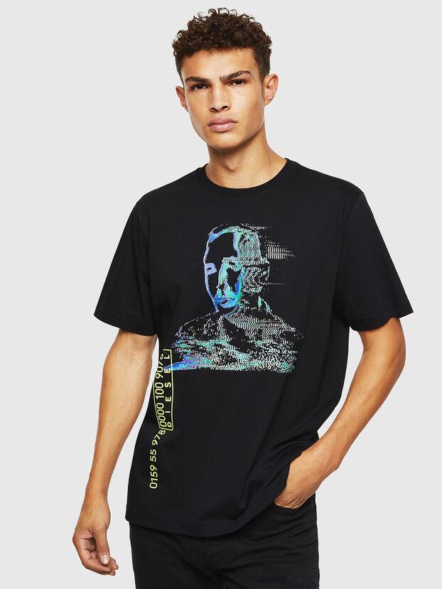 T-JUST-J12, Black - T-Shirts