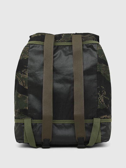 Diesel - VOLPAGO BACK, Green/Black - Backpacks - Image 2
