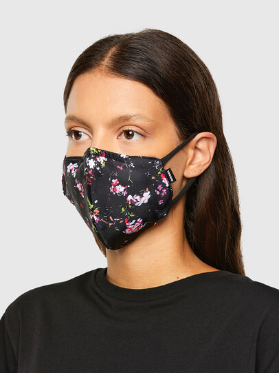 Diesel - FACEMASK-FLO-A, Black - Other Accessories - Image 3
