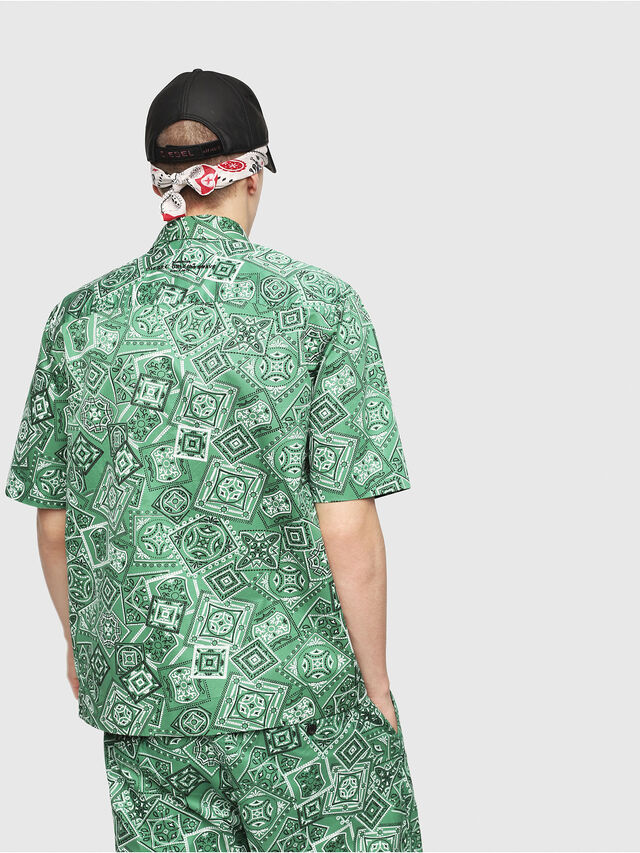 Diesel - S-FRY-NP, Green - Shirts - Image 2