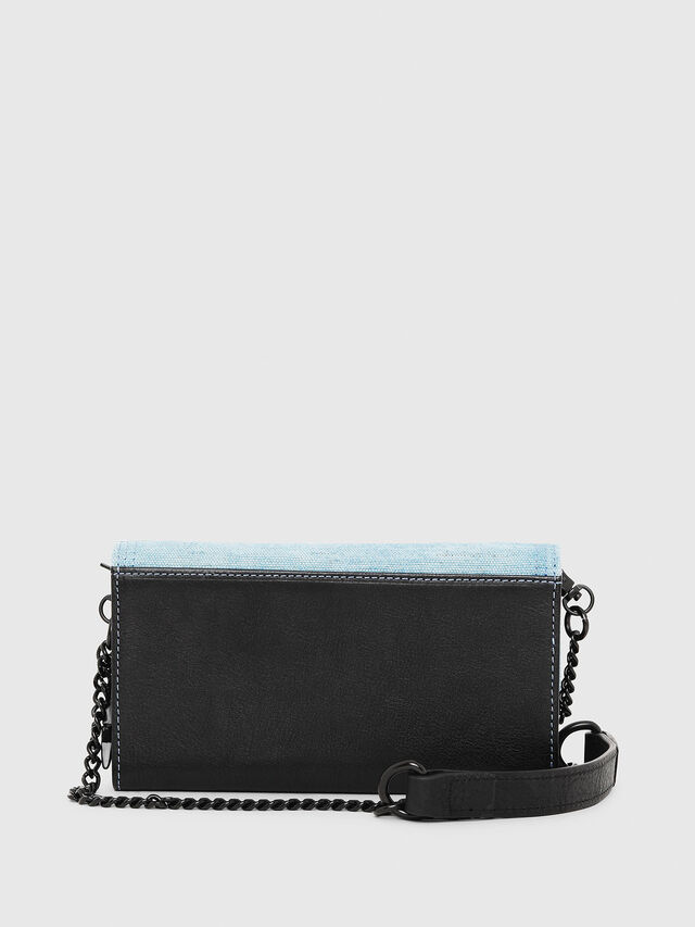 Diesel - GIPSI, Black/Blue - Small Wallets - Image 2
