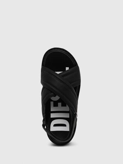 Diesel - SA-SCIROCCO XR, Black - Sandals - Image 5