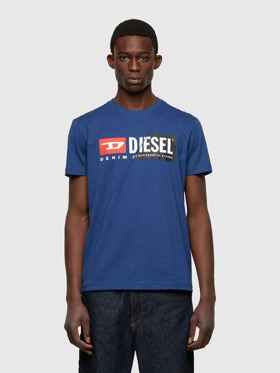 Diesel - T-DIEGO-CUTY, Blue - T-Shirts - Image 1