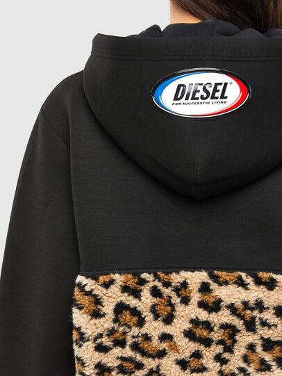 Diesel - S-GIRK-HOOD-ZIP-TARS, Black - Sweaters - Image 6