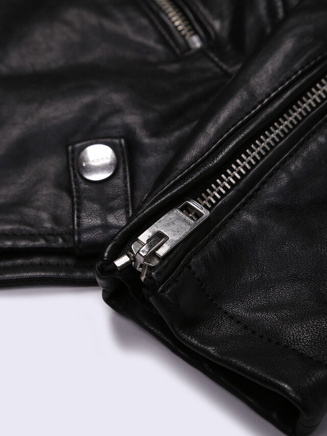 JMORGAN, Black Leather