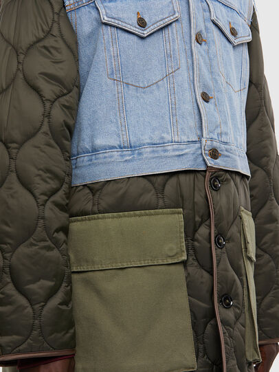 Diesel - W-SHAYL, Military Green - Winter Jackets - Image 4