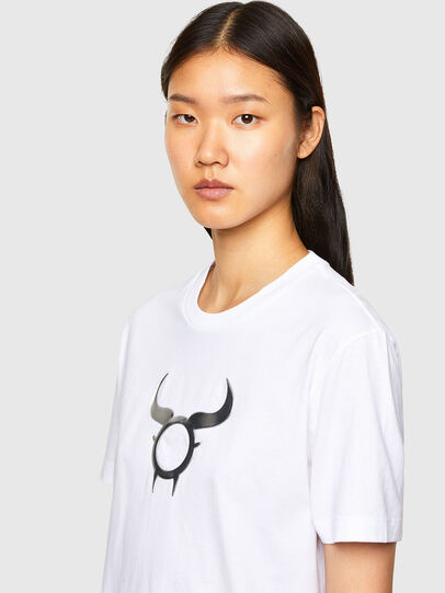 Diesel - CL-T-DIEGOS-O2, White - T-Shirts - Image 6