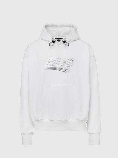 Diesel - S-ALBYEL-X1, White - Sweaters - Image 1
