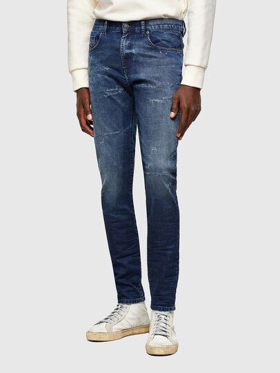 Diesel - D-Strukt JoggJeans® 069SL, Dark Blue - Jeans - Image 1