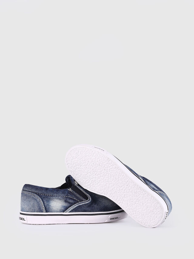KIDS SLIP ON 21 DENIM YO, Blue Jeans - Footwear - Image 6