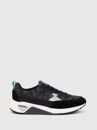Diesel - S-KB LOW LACE II, Black/Dark grey - Sneakers - Image 1