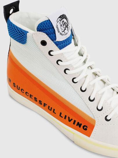 Diesel - S-DVELOWS MID, White/Orange - Sneakers - Image 4