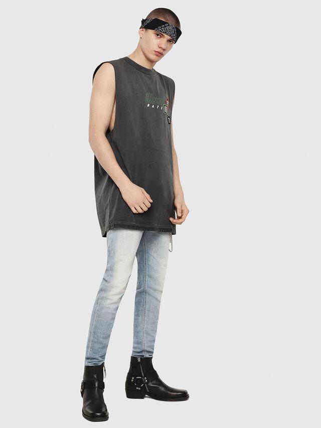 Diesel - T-MINOLESS, Black - T-Shirts - Image 4