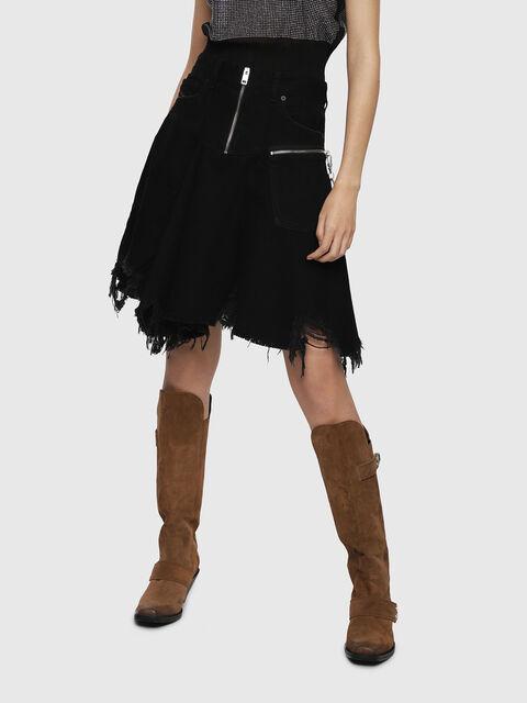 DE-FRINSKIRT-P,  - Skirts