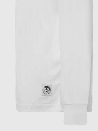 Diesel - T-JUST-LS-MOHI, White - T-Shirts - Image 3