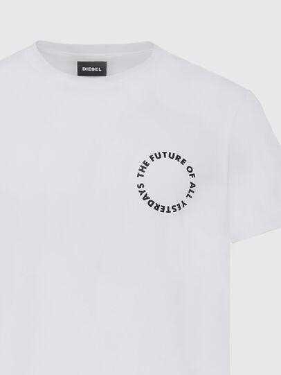 Diesel - T-DIEGOS-X46, White - T-Shirts - Image 3