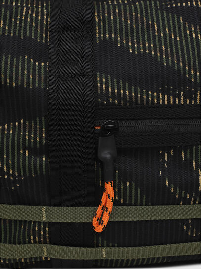 Diesel - M-CAGE DUFFLE M, Black/Green - Travel Bags - Image 5