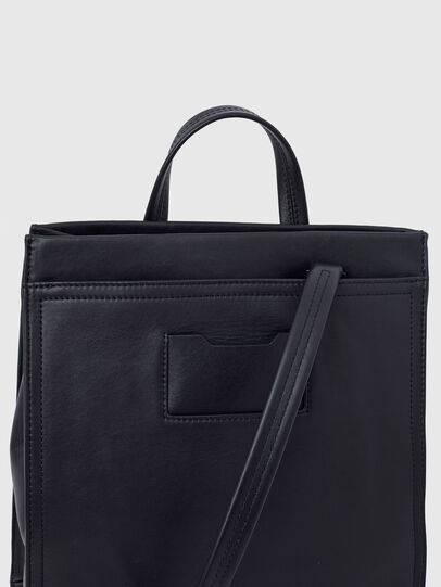 Diesel - AMETISTA, Black - Shopping and Shoulder Bags - Image 6