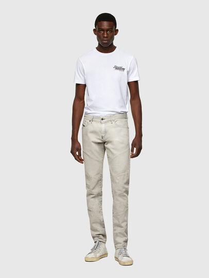 Diesel - D-Kras 009ZC, Light Grey - Jeans - Image 6
