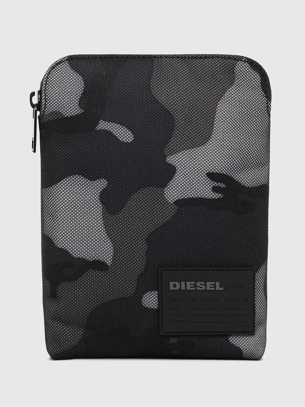 F-DISCOVER CROSS, Blue/Grey - Crossbody Bags