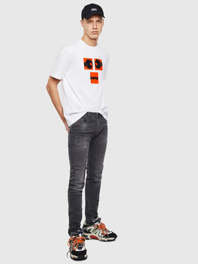 Diesel - T-JUST-T23, White - T-Shirts - Image 2