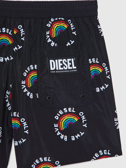 Diesel - BMBX-WAVE 2.017-P, Black - Swim shorts - Image 4