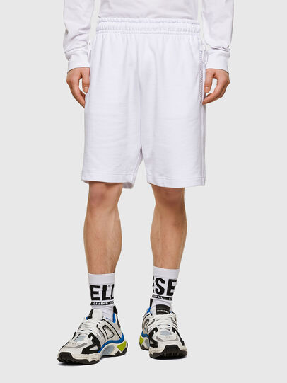 Diesel - P-HORTY, White - Shorts - Image 1