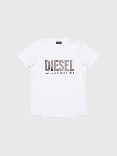 Diesel - TSILYWX, White - T-shirts and Tops - Image 1